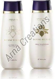 Oriflame Sweden Royal Velvet Soothing Toner and Cleansing Milk Combo