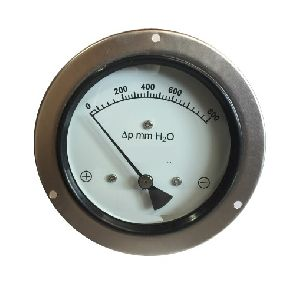 Differential Pressure Gauge with Switch