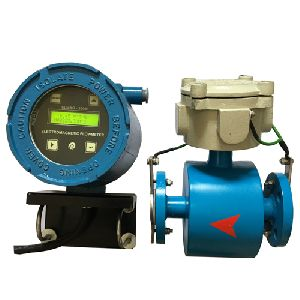 Electromagnetic Flow Meter with Remote Indicator and Totalizer