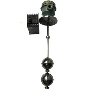 Float type Level Switch with 2 Floats - Top mounted