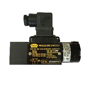Hydraulic range Pressure Switch HM series