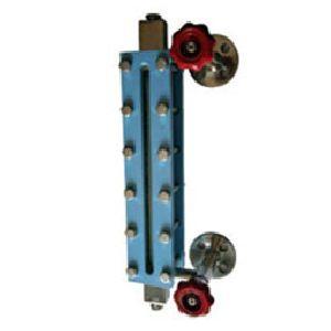 Level Gauge - Tubular Type with Isolation Valves at side