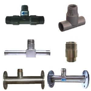 Type of T-FITTINGS for Insertion Paddle Wheel type Flow Meters