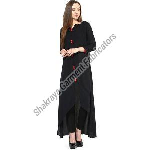 High Low Plain Kurti