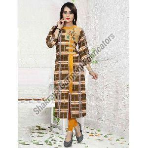Printed Formal Wear Kurti
