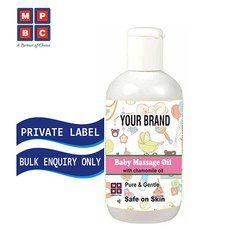 Baby Massage Oil with Chamomile Oil