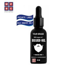 Growth & Nourishment Beard Oil with Argan Oil