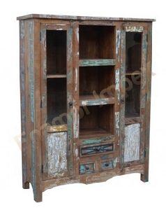 Wooden Almirah (EMI-1302)