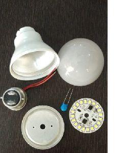5 Watt LED Bulb Raw Material with PBT Body