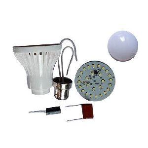 9 Watt LED Bulb Raw Material Plastic Body