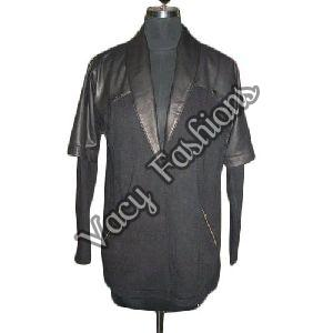 Ladies Designer Wool & Goat Leather Jacket