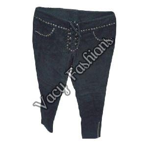 Ladies Suede Pants