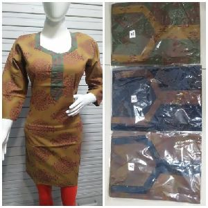 Full Sleeves Cotton Kurtis