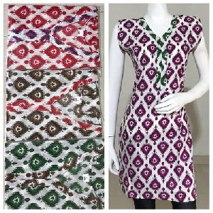 Half Sleeves Cotton Kurtis