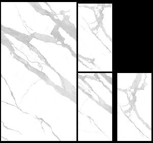 1200X2400mm Bianco Statuario Venato Glossy Series Vitrified Slabs