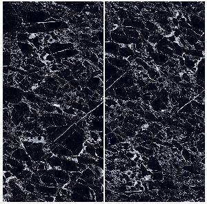 1200X2400mm Black Beauty Glossy Series Vitrified Slabs