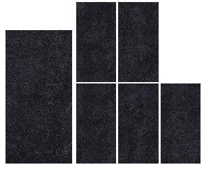 1200X2400mm Black Pearl Glossy Series Vitrified Slabs