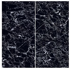 800X1600mm Black Beauty Glossy Series Vitrified Slabs