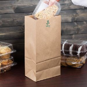 Brown Grocery Paper Bag