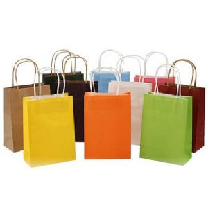 Multicolor Kraft Paper Bag