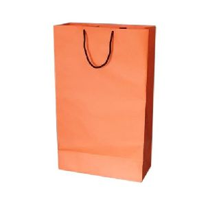 Orange Kraft Paper Bag