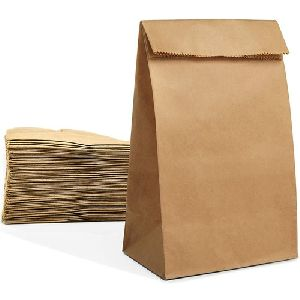 Plain Grocery Paper Bag