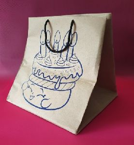 Printed Kraft Paper Bag
