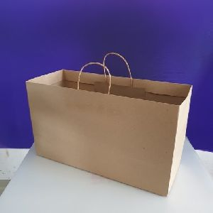 Twisted Handle Paper Carry Bag
