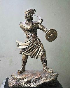 Metal Maharana Pratap Statue