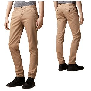 Mens Cotton Casual Trousers