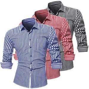 Mens Striped Casual Shirts