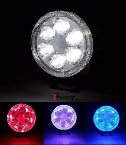 6 LED Multi Colour Bike Lights
