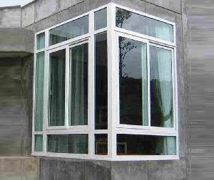 UPVC Corner Window