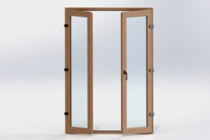 UPVC Standard Casement Door