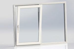 UPVC Tilt and Slide Casement Door
