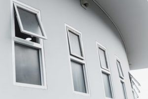 UPVC Top Hung Window
