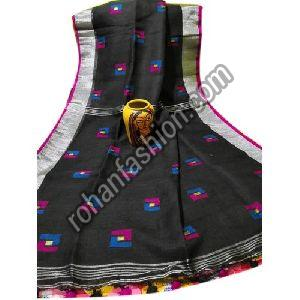 Casual Linen Saree