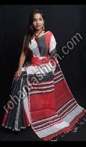Handmade Cotton Silk Saree