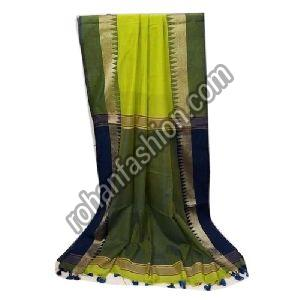Designer Khadi Cotton Saree