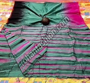 Ikkat Silk Cotton Saree