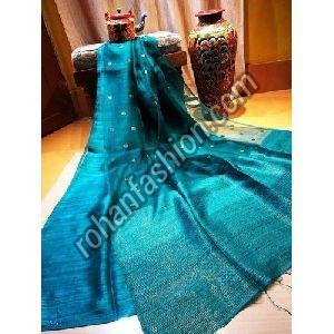 Indian Matka Muslin Silk Jamdani Saree