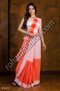 Jharna Khadi Cotton Saree