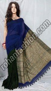 Khadi Cotton Ghicha Pallu Saree