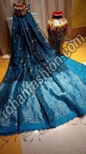 Matka Muslin Jamdani Saree