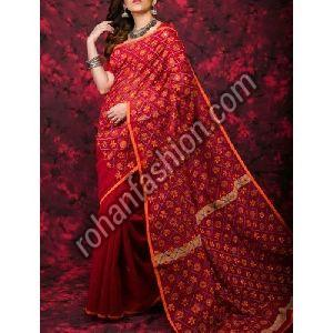 Noil Silk Cotton Saree