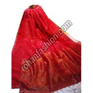 Traditional Matka Muslin Silk Jamdani Saree