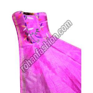 Trendy Matka Muslin Silk Jamdani Saree