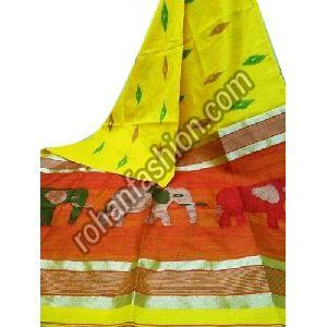 Trendy Silk Cotton Saree