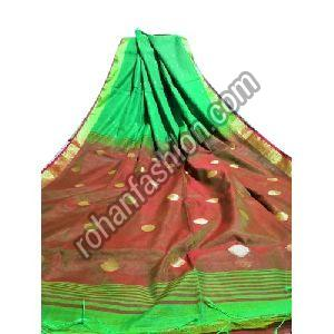 Zari Work Silk Cotton Saree
