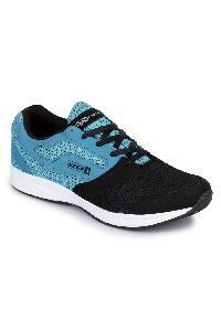 Sky Blue & Black Sports Shoes